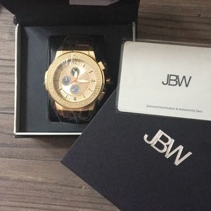 JBW Watch - 16 Diamonds and 3 Complications